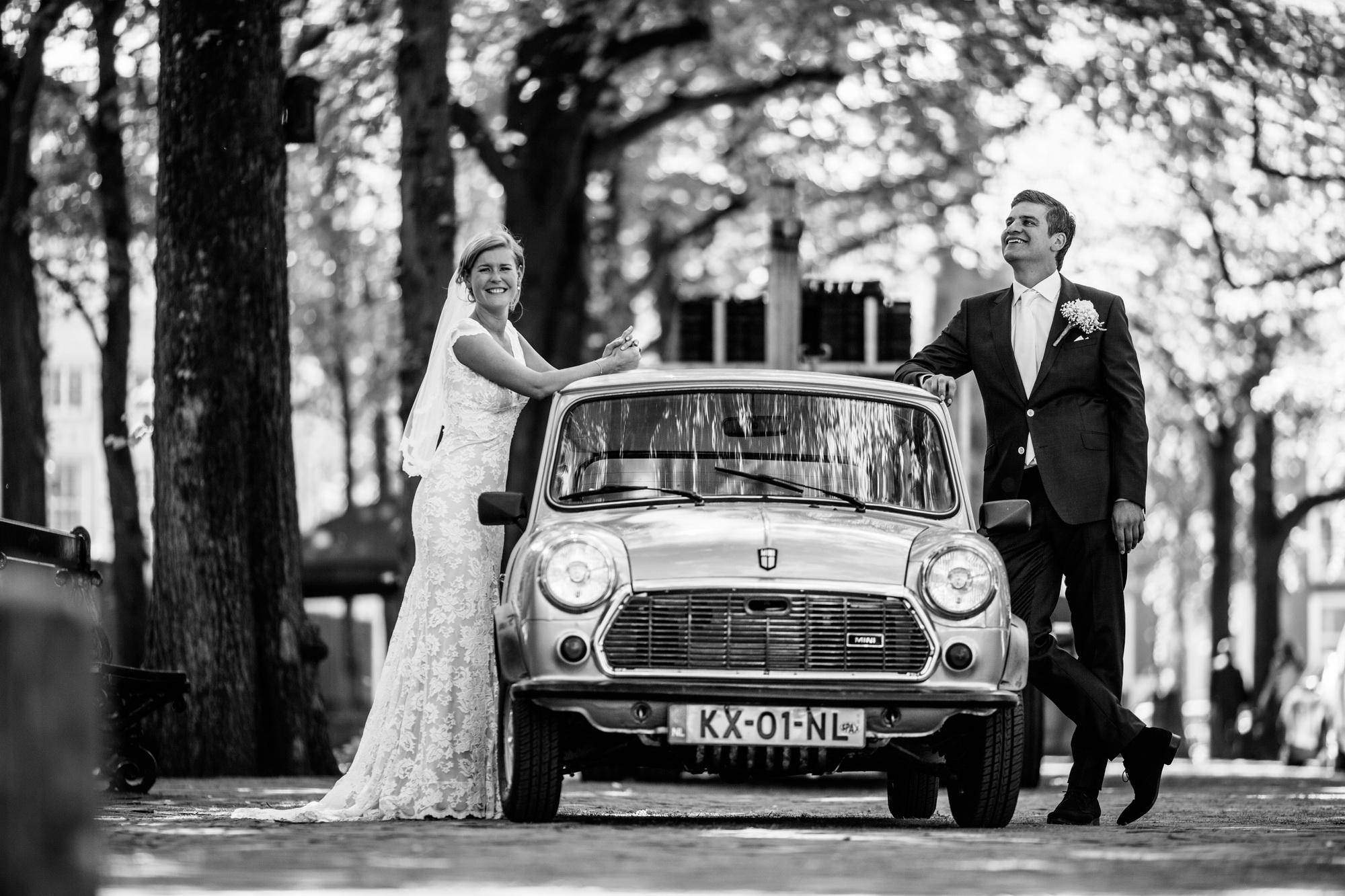 Den Haag bruidspaar